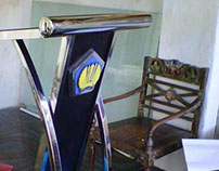 STAINLESS LECTERN