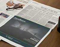 Newspaper Ad Inspiration