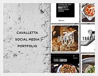 CAVALLETA - Social Media Portfolio