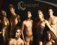 CineLight ArtWork & Website Design