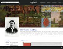 AskART Rebrand and Website Update Proposal (2014)