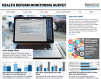 Health Reform Monitoring Survey