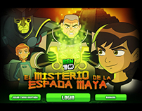 Ben 10 Mystery of the Mayan Sword  / Ingame animations