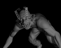 monster for Silent Hill - low poly