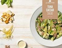 La Fonte D´Oro: Salads