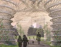 Central Park Weave Pavilion