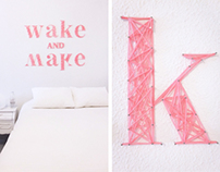 YARN TYPOGRAPHY