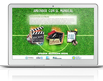 CD para Coleccion educ.ar, Aprender con el Mundial