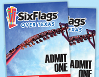 Six Flags Over Texas ad