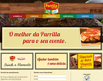 Website Parrilla Del Sur (2013)