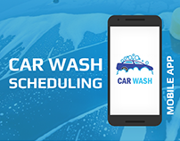 Car Wash Scheduling App : Carash