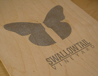 Branding & Packaging: Swallowtail Vineyard