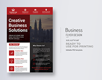 Creative Business Flyer Title Design