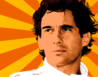 Senna Pop Art