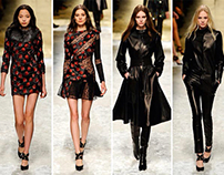 BLUMARINE FALL 2014 FASHION SHOW