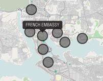The Battle of Abidjan Visualization