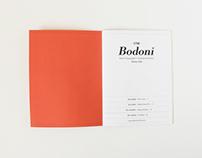 Bodoni Biography