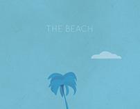 The Beach Minimalist Poster