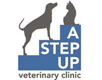 A Step Up Veterinary Clinic logo