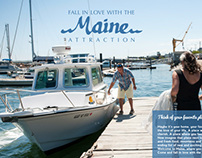 Travel Maine Campaign