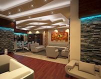 Interior Design of a Reception Area