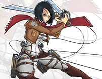 Shingeki no kyojin / Mikasa