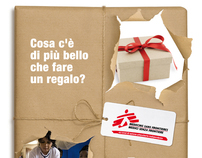 Advertising campaign for Medici Senza Frontiere