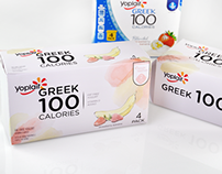 REDESIGN: Yoplait Greek Yogurt