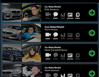 Automotive Sales iPad App