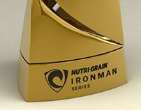 2014 Nutrigrain Ironman Series Trophy & Medal