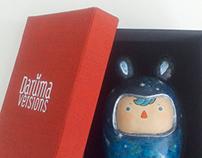 Daruma Versions Sculptures
