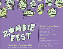 Zombiefest Event Poster