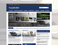 PressMyWeb - Redesign Concept