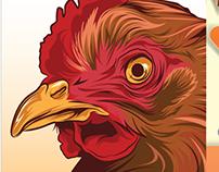 Sack Packaging Design (Chicken)