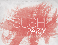 Sushi Party Poster/Flyer