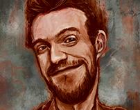 Autoportret - caricature
