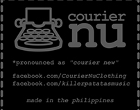 Printed label for Courier_Nu