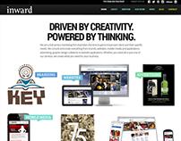 Inward Solutions Website Redesign