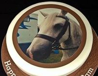 Personalised Horse Cake