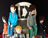 1D - One Direction Cake