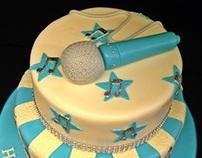 Karaoke & Music Cake