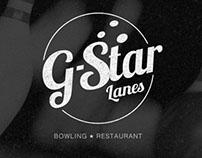 G Star Lanes Branding