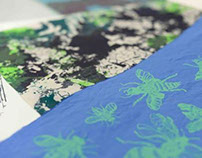 Lecture about Silk screen printed WALLPAPERS & TEXTILES