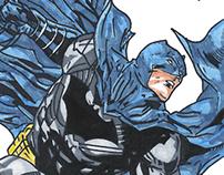 Justice League Marker Illustrations