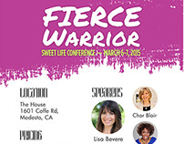 Fierce Warrior - Sweet Life Women's Conference 2015
