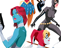 COMIC LADIES