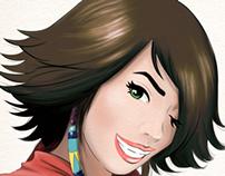 fanart Yuna (Final Fantasy) - Girl Power Collab