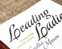 Leading Ladies - Book Cover Design