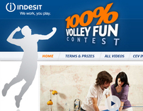 Indesit - 100% Volley fun contest