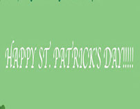 Happy St. Patrick's Day Banner